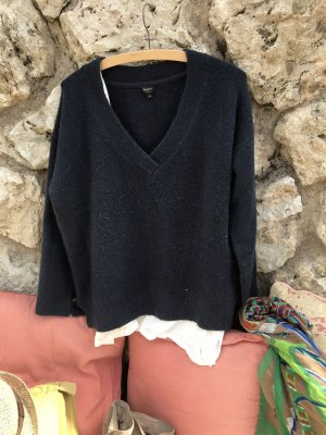 Pepe V-Neck Sweater dark blue