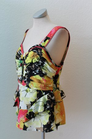 Peplum Top Oberteil neu Next Gr. UK 14 EUR 42 bunt