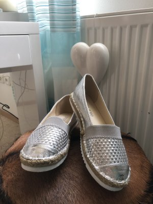 Peppa rose Scarpa slip-on argento