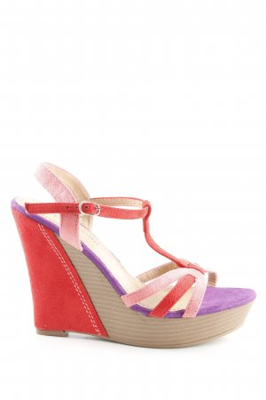 Peppa rose Wedges Sandaletten mehrfarbig Casual-Look