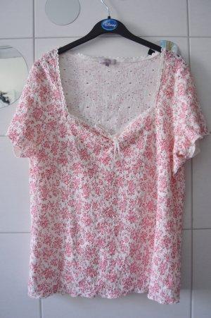 per una by Marks & Spencer Camiseta blanco-magenta