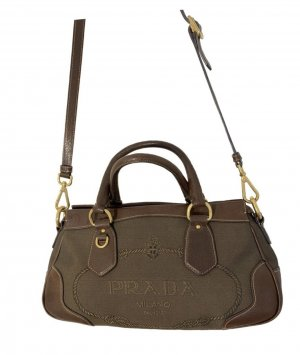Perfect Size Brown Prada Bag