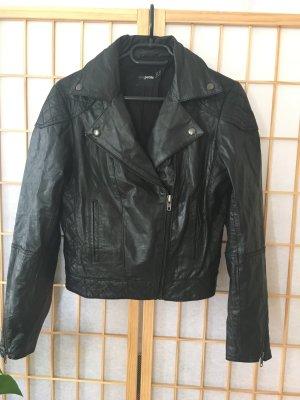 Perfecto Style Lederjacke Echt Leder Greaser 50's