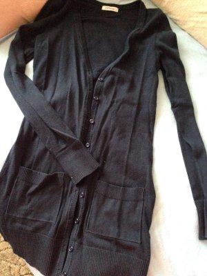 Perfekt für Business Outfit ! Bequeme dunkelblaue Orsay Strickjacke