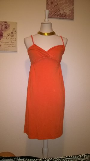 H&M Vestito da spiaggia arancio neon Viscosa
