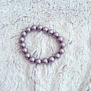 """""""Perlen""""-Armband taupefarben"""