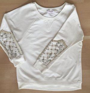Perlen bestickes Sweatshirt