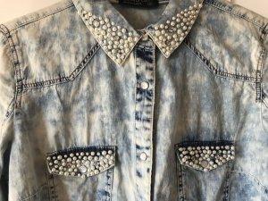Blind Date Jeans blouse veelkleurig
