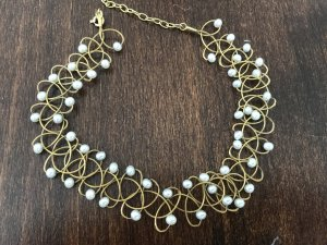 Collar estilo collier color oro oro verdadero