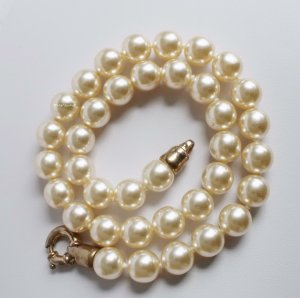 Vintage Collier room-goud