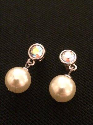 Perlen Hänger mit Stein top Zustand