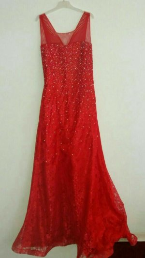 perlen Kleid