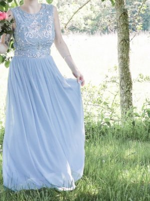 Peek & Cloppenburg Abito da ballo grigio ardesia-blu pallido