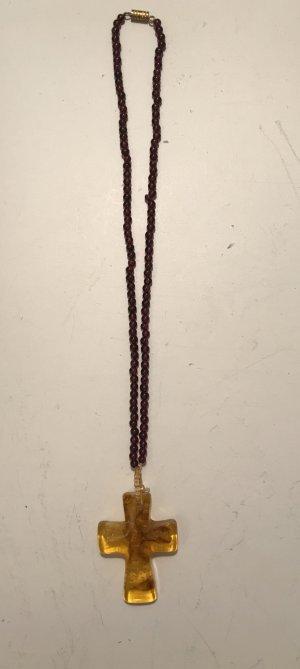 Perlen Kreuzkette