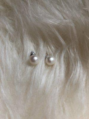 Perlen Ohrringe 333 Gold