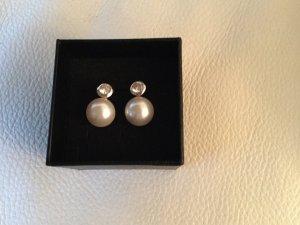 Perlen Ohrringe aus Silber