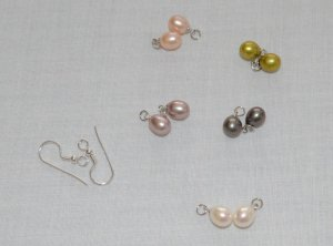 Pearl Earring multicolored