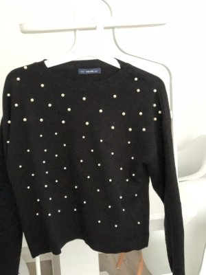 Knitted Sweater black-white