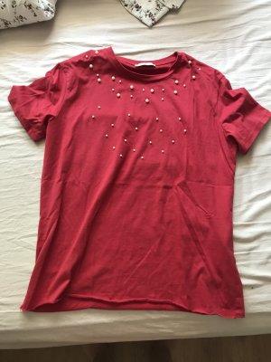 Zara Basic topje rood