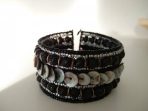 Armlet black-grey