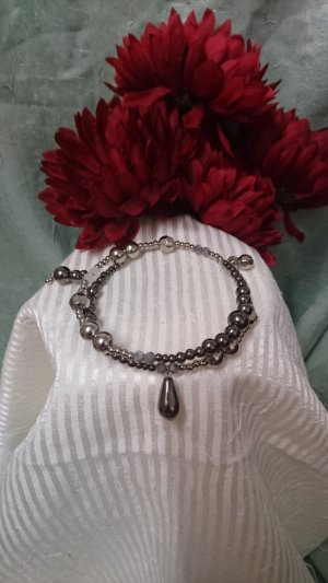 Pearl Bracelet silver-colored-anthracite