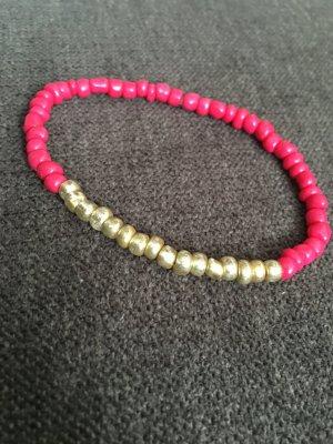 Perlenarmband mit Gummiband handmade