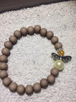 Perlenarmband mit Perlen Engel