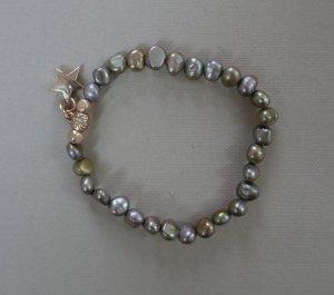 Perlenarmband mit Stern Anhänger