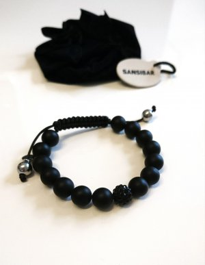 Sansibar Bracelet noir-argenté