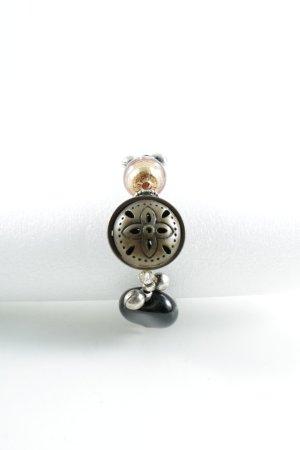 Perlenarmschmuck mehrfarbig Metallic-Optik