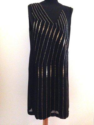 Perlenbesetztes Kleid von French Connection, Gr. 40, neu mit Etikett