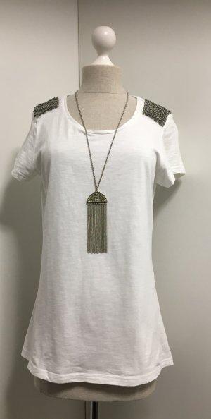 Perlenbesticktes Shirt :)