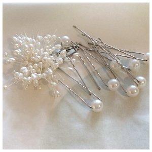 Perlenhaarschmuck (Kunstperlen) für Aufsteckfrisur