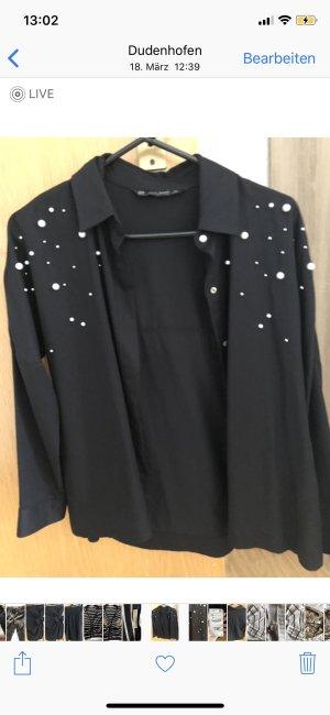 Perlenhemd Zara
