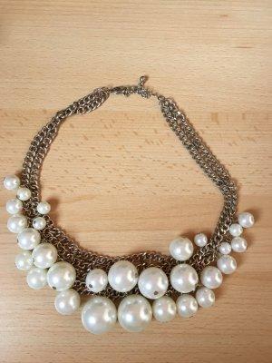 H&M Necklace gold-colored-cream