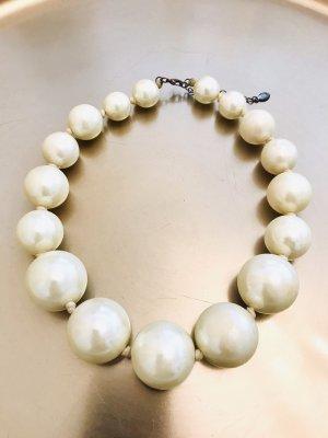 Accessorize Collier de perles crème