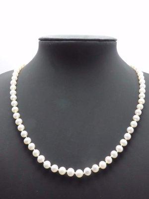 Perlenkette echte Perlen gold 333 Kette echtgold Collier Echtperlen
