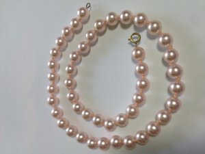 Perlenkette im angesagten Rosa