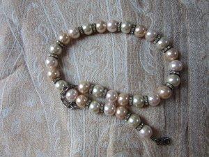 Perlenkette (Kunstperlen, groß)