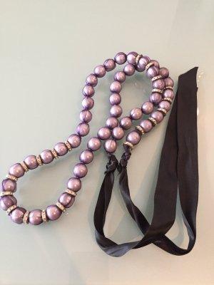 Lua Collana di perle multicolore