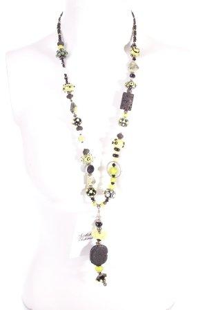 Perlenkette mehrfarbig Eleganz-Look