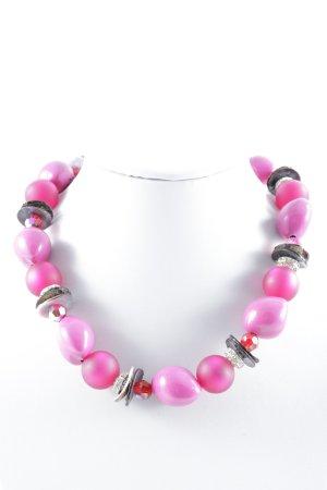 Perlenkette mehrfarbig extravaganter Stil