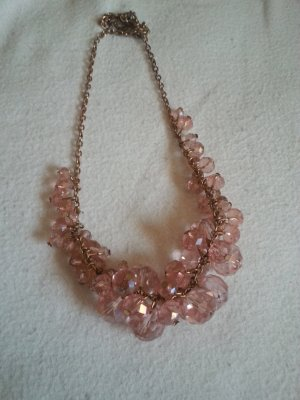 Pearl Necklace rose-gold-coloured-pink