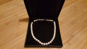 Perlenkette Salzwasser Echte Perlen 14 Karat Gold