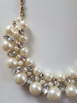 Perlenkette Strasskette