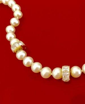 Perlenkette Süßwasser mit 585er Verschluss