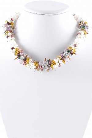 "Collier de perles ""Süßwasserperlen-Kette &-Armband"""