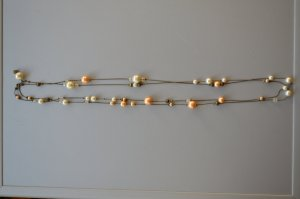 Perlenkette Vintage-Look
