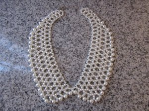 Collier Necklace white