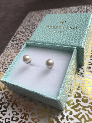 Pierre Lang Pearl Earring silver-colored-natural white
